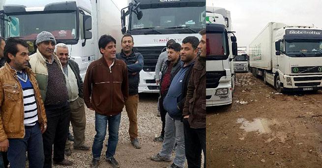 Türk TIR şoförleri, Bazargan'da mahsur kaldı