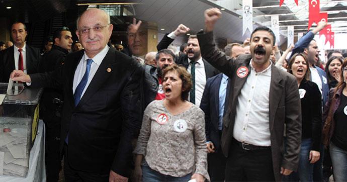 İstanbul barosu seçimlerinde gerginlik!