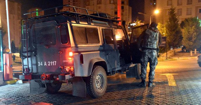 Başakşehir'de terör operasyonu