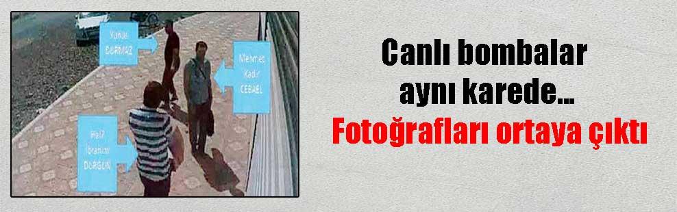 Canlı bombalar aynı karede… Fotoğrafları ortaya çıktı