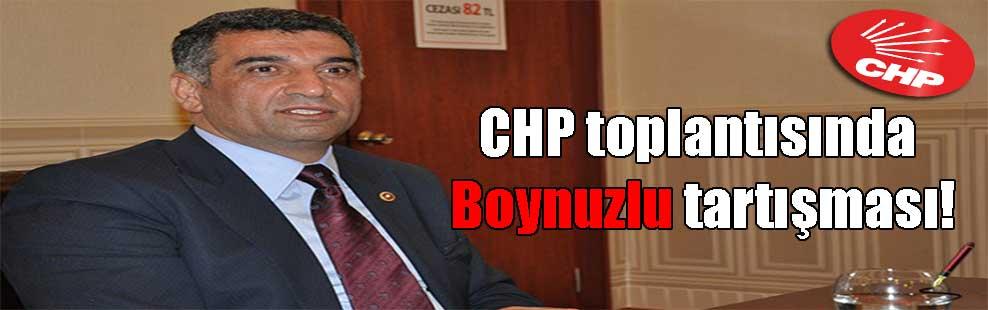 CHP toplantısında Boynuzlu tartışması!