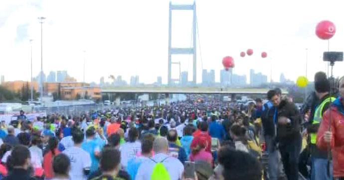 Ve Vodafone İstanbul Maratonu'nun startı verildi