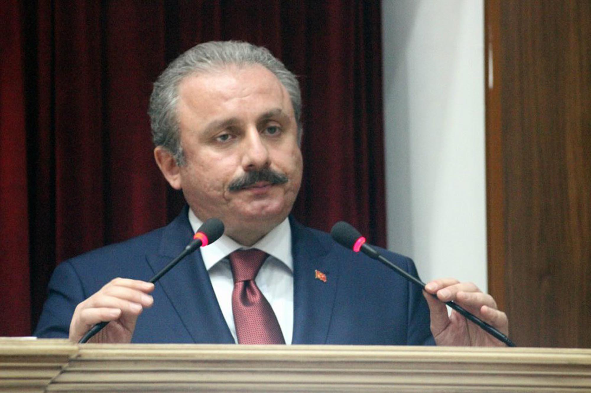 Mustafa Şentop 'mafyadan 10 bin dolar alan siyasetçi' iddiasını Soylu'ya sordu