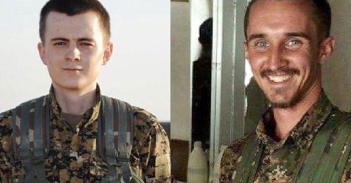 Münbiç'te ölen ABD'li ve Alman YPG'linin kimlikleri açıklandı