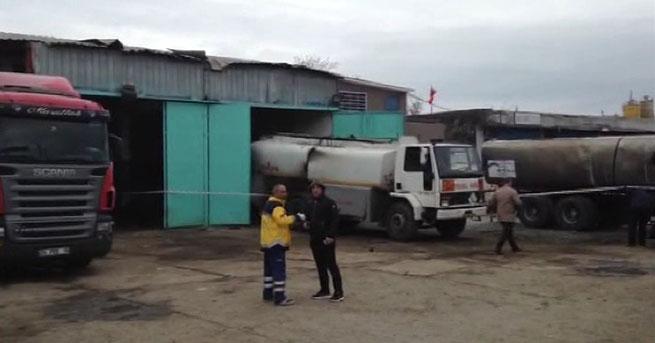 İstanbul'da akaryakıt tankerinde patlama