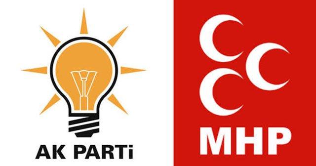 MHP ile ittifak referanduma yönelikti!