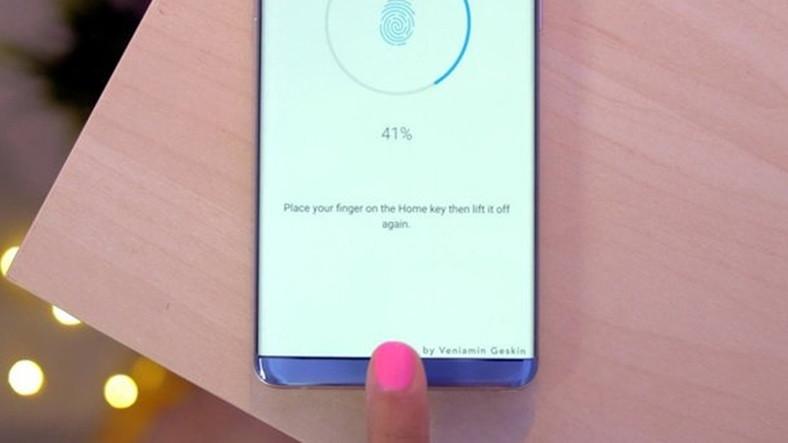 Galaxy S8'de parmak izi okuyucu ekranın içinde olacak