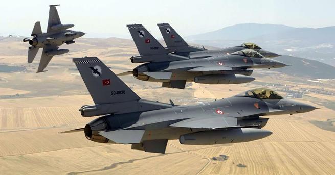 Türk jetleri DEAŞ'ı vurdu