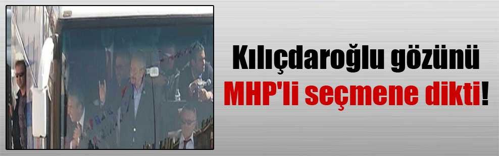 Kılıçdaroğlu gözünü MHP'li seçmene dikti!