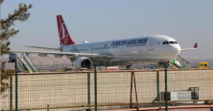 İstanbul'a inemeyince Gaziantep'e indiler