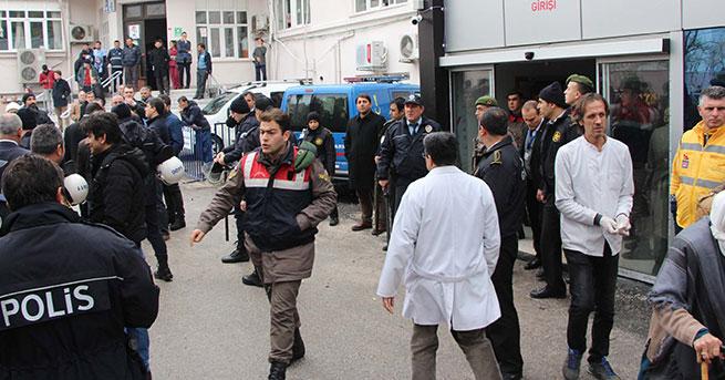 Sedyede ifadesi alınmak istenince olay çıktı: 13 gözaltı