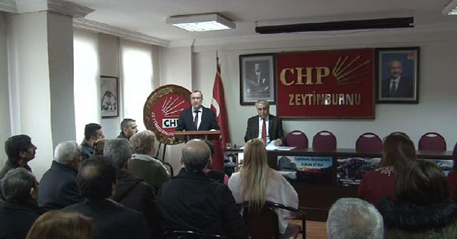 CHP'den Zeytinburnu Belediye Başkanı hakkında suç duyurusu
