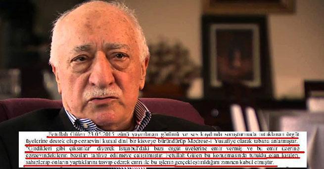 Gülen, cezaevlerini kutsal kisveye büründürmüş