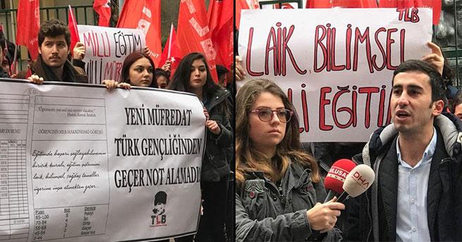 Kadıköy'de 'karneli' eylem