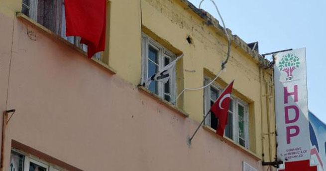 Osmaniye'de HDP eş başkanı tutuklandı