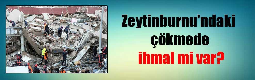 Zeytinburnu'ndaki çökmede ihmal mi var?