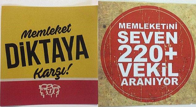 CHP İzmir'den 'hayır'lı propaganda!