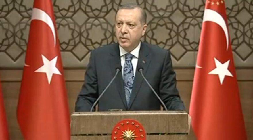 Erdoğan: Güneydoğu'da iki ilçe il, iki il ilçe oluyor