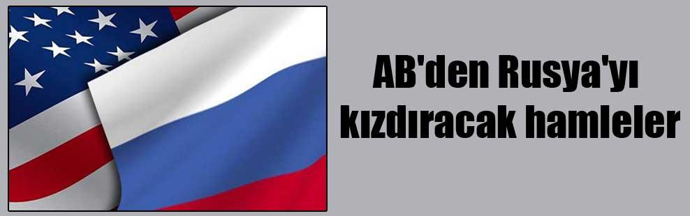 AB'den Rusya'yı kızdıracak hamleler