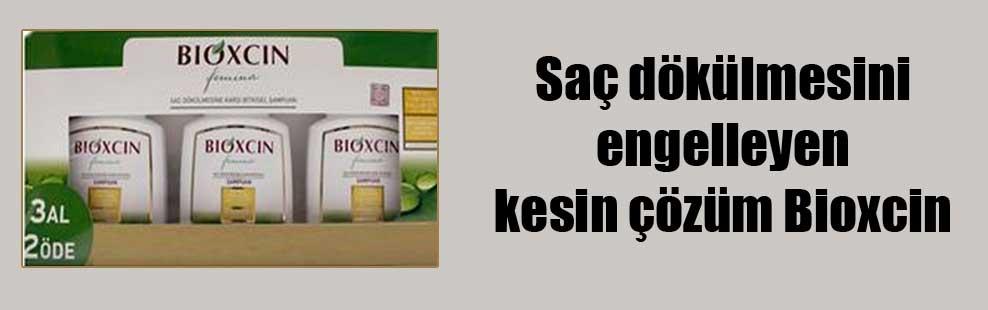 Saç dökülmesini engelleyen kesin çözüm Bioxcin