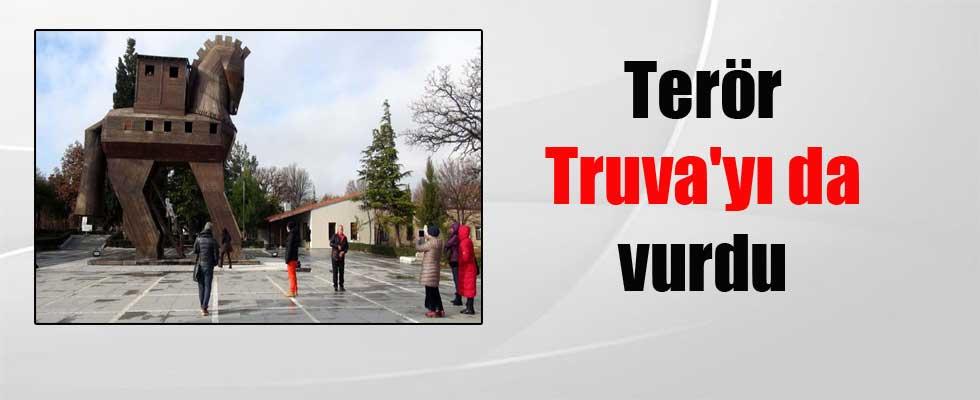Terör Truva'yı da vurdu