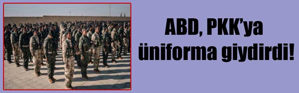 ABD, PKK'ya üniforma giydirdi!