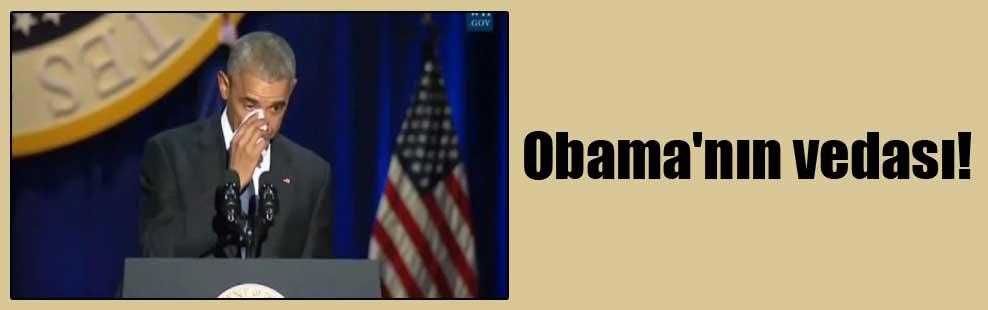 Obama'nın vedası!