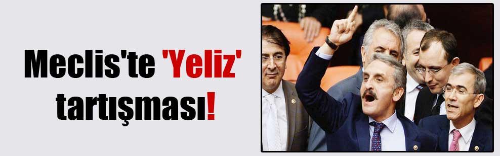 Meclis'te 'Yeliz' tartışması!