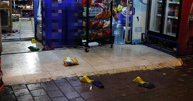 Soyguna direnen market sahibini vurdular