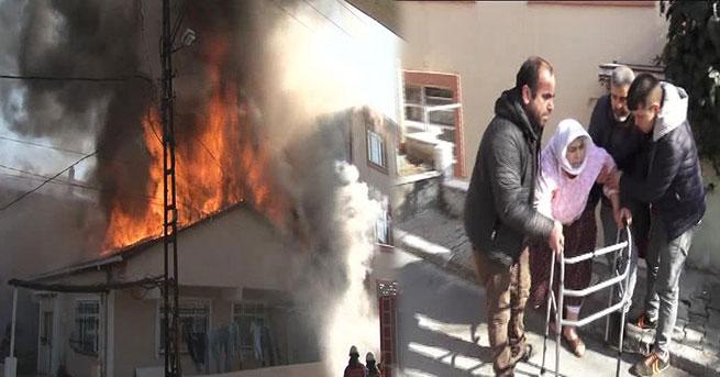 Ataşehir'de yangın kâbusu