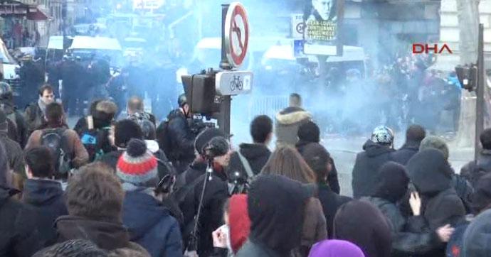 Paris'te 'Theo İçin Adalet' eylemi!.. Gözaltılar var!
