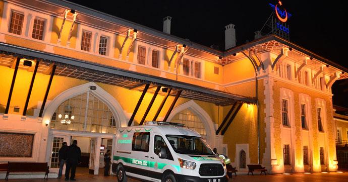 Adana Tren Garı'nda feci ölüm!