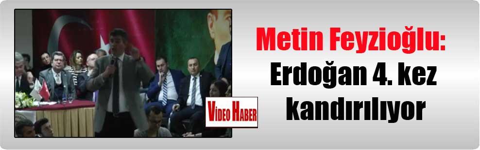 Metin Feyzioğlu: Erdoğan 4. kez kandırılıyor
