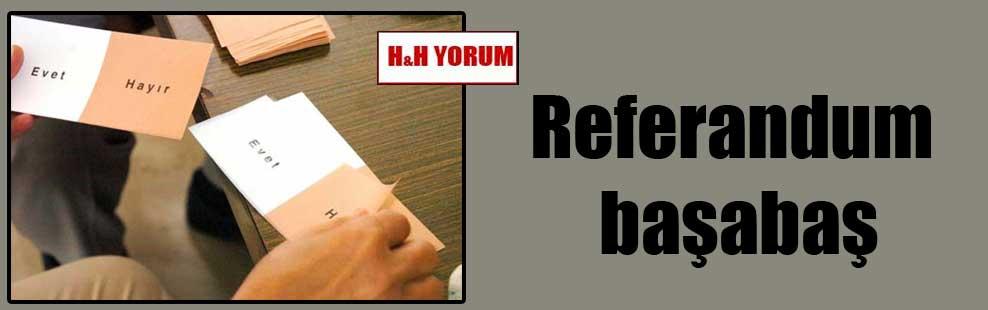 Referandum başabaş