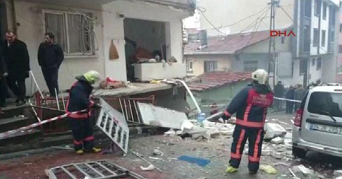 Kağıthane'de tüp patladı: 1 yaralı