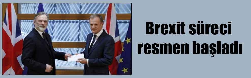 Brexit süreci resmen başladı