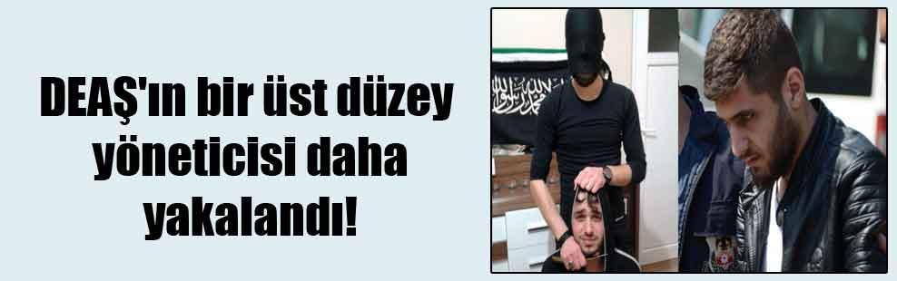 DEAŞ'ın bir üst düzey yöneticisi daha yakalandı!
