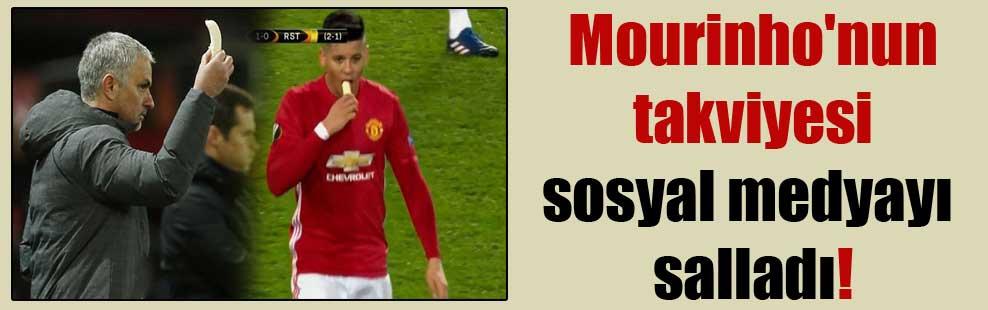 Mourinho'nun takviyesi sosyal medyayı salladı!