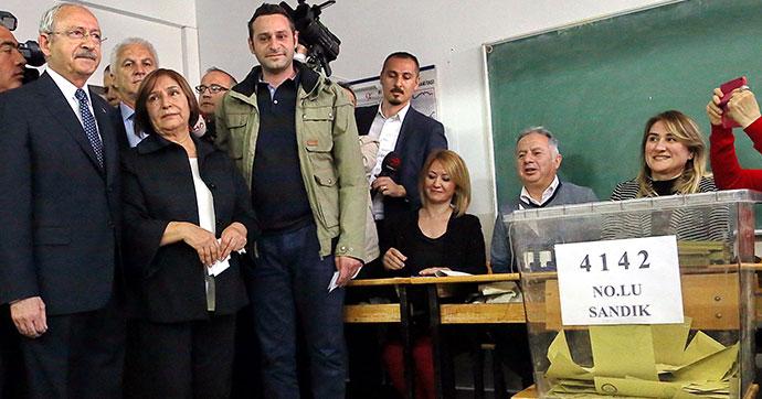 Kılıçdaroğlu: Türkiye'nin kaderini oyluyoruz