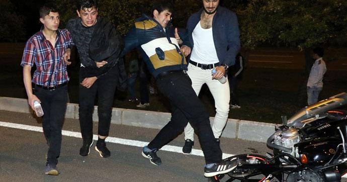 Ehliyetsiz, kasksız motosiklet sürücüsü hız kurbanı