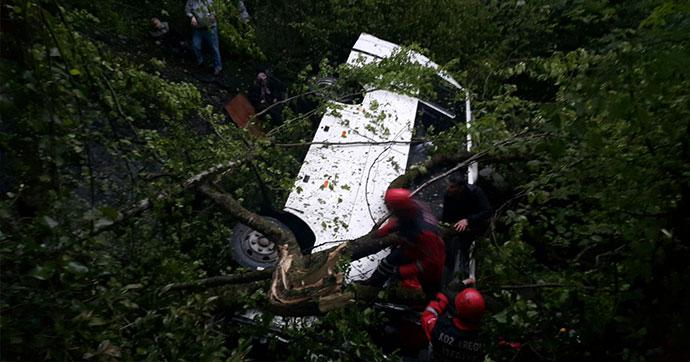 Zonguldak'ta korkunç kaza! Çok sayıda ölü ve yaralı var…