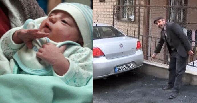 Yeni doğan bebeği sokağa terk etmişler!