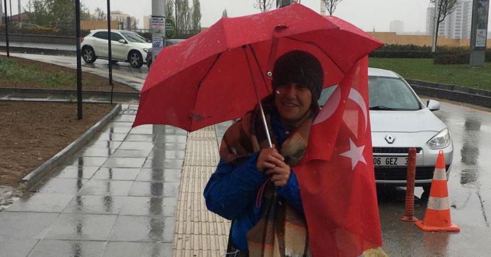 Ankara'ya ulaştı