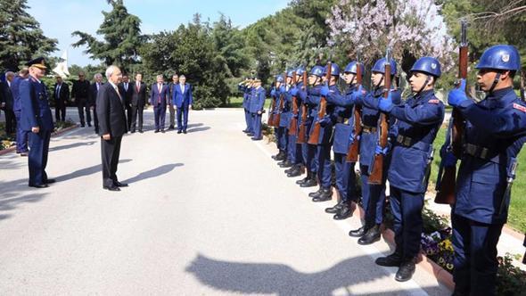 Kemal Kılıçdaroğlu'na askeri törenle karşılama için son dakika açıklaması