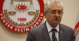 YSK Başkanı ve üyeleri hakkında suç duyurusu