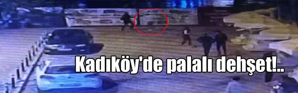 Kadıköy'de palalı dehşet!..
