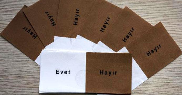 İşte İstanbul'da YSK sistemine giren referandum sonuçları