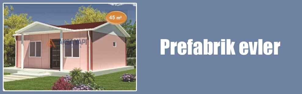 Prefabrik evler
