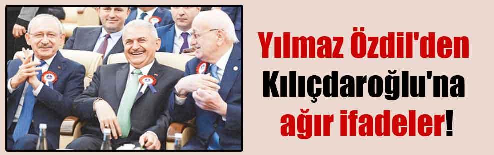 Yılmaz Özdil'den Kılıçdaroğlu'na ağır ifadeler!