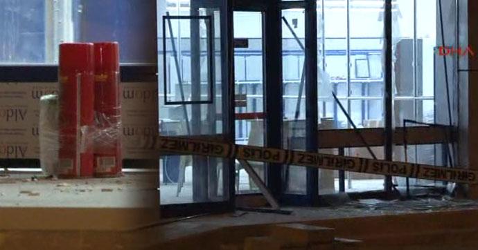 İstanbul'da markete EYP'li saldırı!